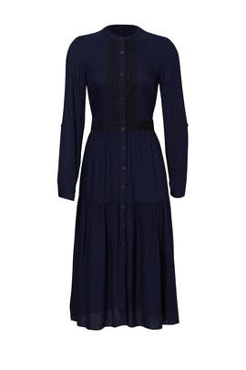 Blue Camile Dress by Shoshanna