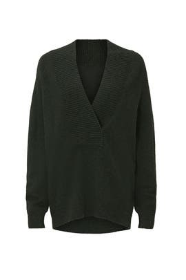 Wool Shawl Collar Sweater by VINCE.