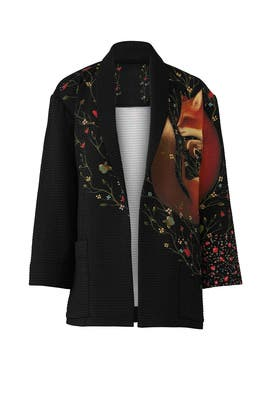 Hypnotic Poppy Jacket by Vilshenko