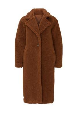 Faux Shearling Paddington Coat by BB Dakota
