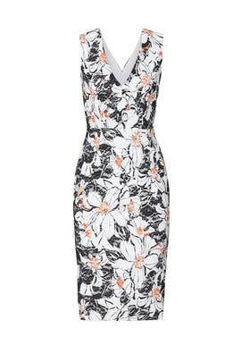 Floral Alice Sheath by Dress The Population