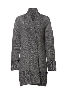 Heather Grey Raelin Cardigan by Joie