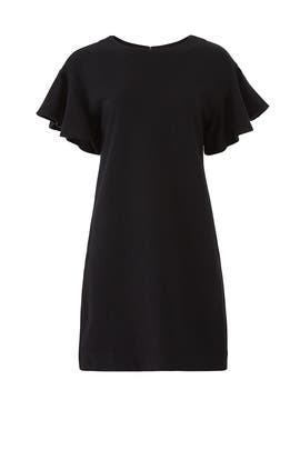 Combed Cotton Flutter Sleeve Dress by KINLY