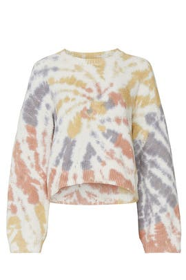 Baxter Tie Dye Pullover by Madewell