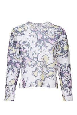 Abstract Daisy Pullover by 3.1 Phillip Lim