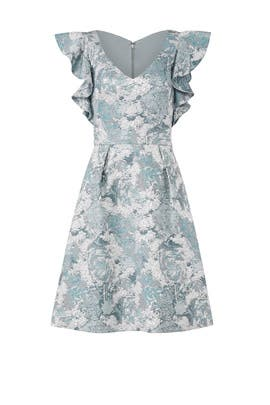 Aqua Mist Dress by Theia