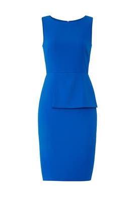 Ocean Blue Flap Sheath by Badgley Mischka