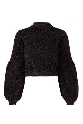 Metallic Restless Sweater by Keepsake