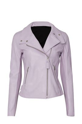 Sandy Leather Jacket by Mackage