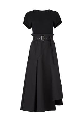 Black T-Shirt Dress by 3.1 Phillip Lim