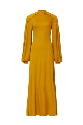 Wrap Sleeve Maxi by Pyer Moss