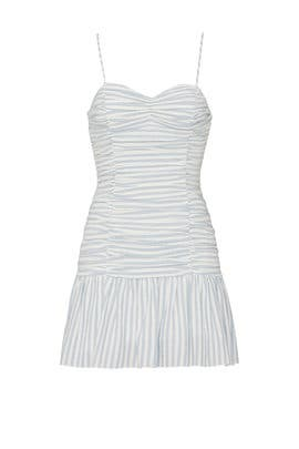 Striped Audrey Sweetheart Dress by Saylor