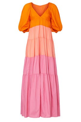 Striped Meadow Maxi by Staud