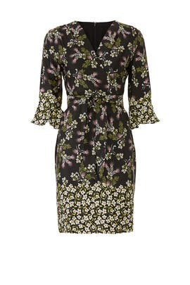 Garden Floral Tie Dress by Slate & Willow