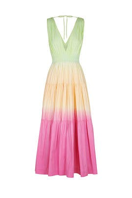 Sunset Tiered Maxi by S/W/F