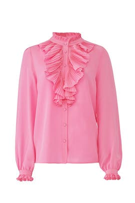 Pink Tacco Button Down by Zadig & Voltaire