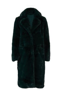 Laure Faux Fur Coat by Apparis
