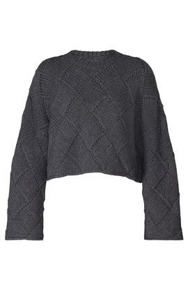 Cropped Oversize Knit by JW Anderson