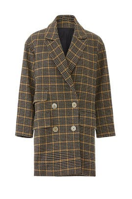 Plaid Ryley Coat by M.i.h. Jeans