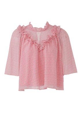 Pink Carla Top by Rebecca Minkoff