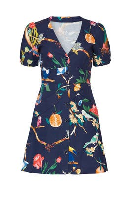 Jungle Print Blanca Dress by Tanya Taylor