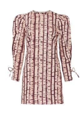 Printed Denim Manon Dress by Ulla Johnson