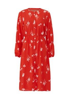 Diana Shirred Shirtdress by B Collection by Bobeau