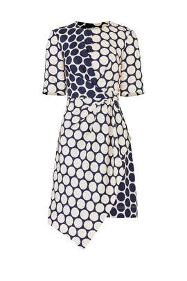 Shell Combo Dress by Jason Wu Grey