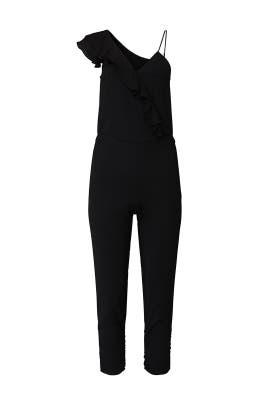 Black Addison Combo Jumpsuit by Parker