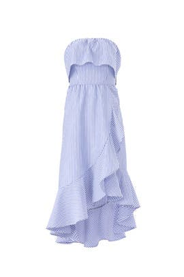 Stripe Popover Dress by Slate & Willow