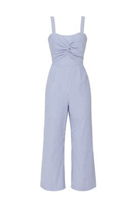 Knotted Front Jumpsuit by Slate & Willow