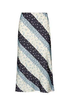Athena Floral Midi Skirt by Greylin