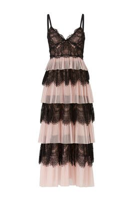 d4ad4f6b5a Blush Tiered Tulle Dress by Marchesa Notte for $120 | Rent the Runway