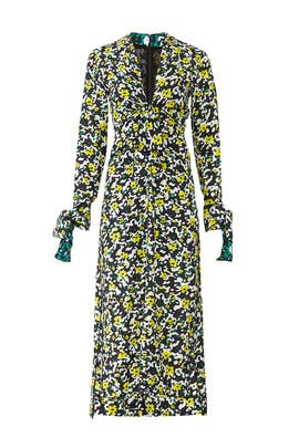 Floral Knot Dress by Proenza Schouler
