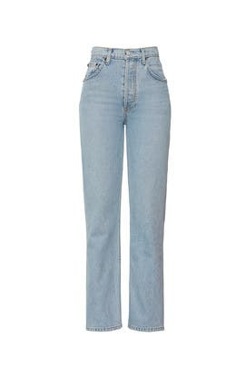 Tahoe Cynthia High Relaxed Jeans by Reformation
