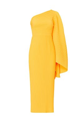 Pleated Lila Dress by Solace London