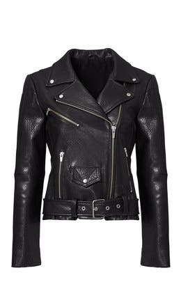 3df8aade0 Black Jayne Classic Moto Jacket by VEDA for $170 | Rent the Runway