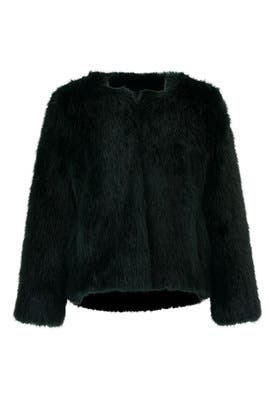 Waddy Faux Fur Coat by ba&sh