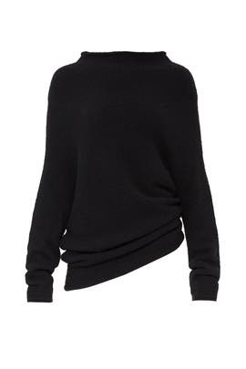 Cozy Funnel Neck Knit by Halston Heritage