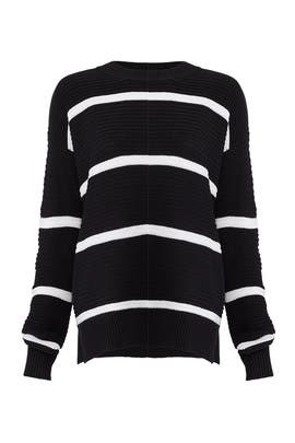 Allure Stripe Sweater by Shilla