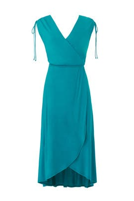 Jade Surplice Dress by Slate & Willow