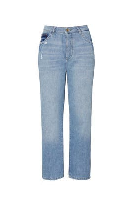 Jerry High Rise Vintage Straight Jeans by DL1961