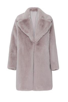 Stella Faux Fur Coat by Keepsake