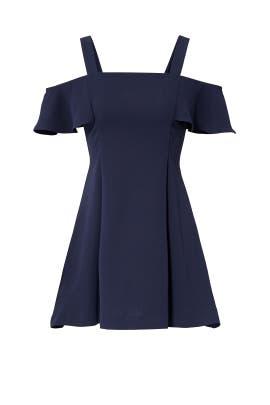 Navy Bellamy Dress by LIKELY