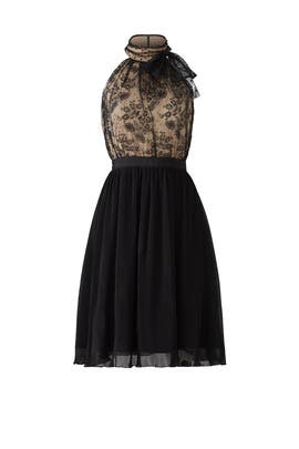 Lace Pleated Dress by Slate & Willow