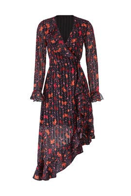 Significant Midi Wrap Dress by C/MEO COLLECTIVE