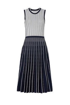 Pleated Knit Dress by Jason Wu Collective