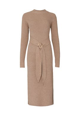 Oatmeal Sweater Dress by Moon River