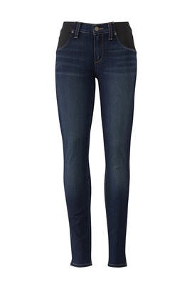 Blue Verdugo Maternity Ultra Skinny Jeans by PAIGE