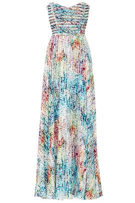 Rainbow Maxi Dress by Parker